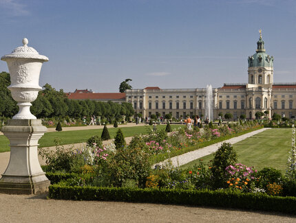 Park of Charlottenburg Palace in Berlin