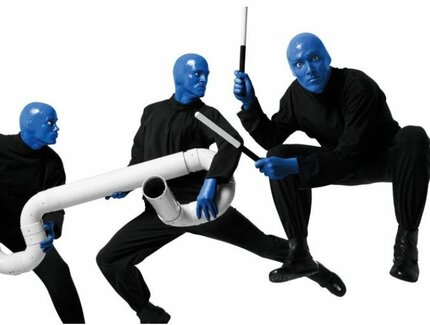 BLUE MAN Group in Action