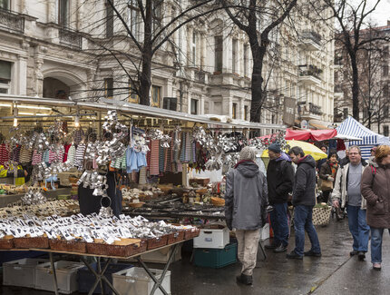 Advent Eco Market at Kollwitzplatz