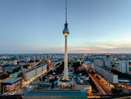 Berlin TV Tower Twilight