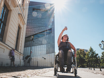 Accessibility in Berlin: Jewish Museum as a barrier free location in Berlin