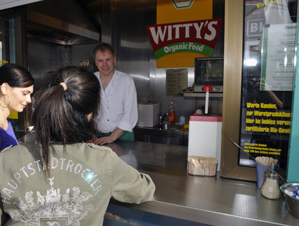 Wittys Organic Food Currywurst