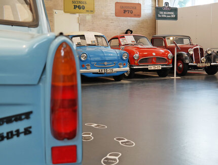rear view of a Trabi