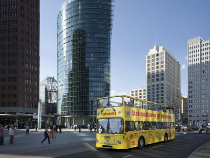 City Circle Sightseeing Tour at Potsdamer Platz in Berlin