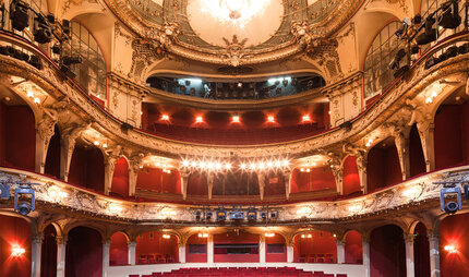 Interior view of the Berliner Ensemble