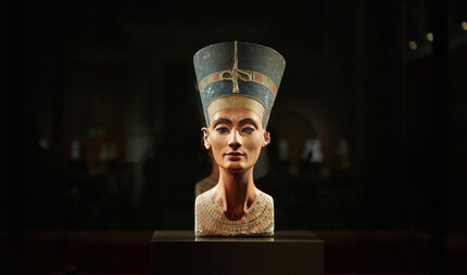Nefertiti in the New Museum in Berlin
