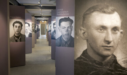Pictures of the Victims of the Memorial Documentation Center NS Forced Labor from National Socialism