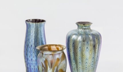 Vases in the Bröhan-Museum in Berlin