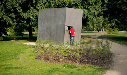 memorial for the homosexuals persecuted under the Nazi regime in Berlin