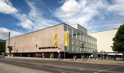 Exterior view of the Deutsche Oper in Berlin