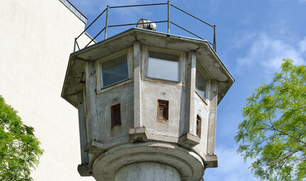 GDR watch tower at Potsdamer Platz, Berlin