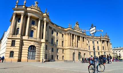 Bebelplatz and Humboldt University in Berlin