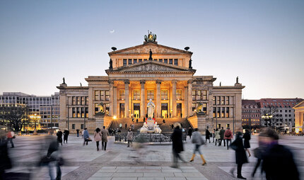 Konzerthaus at Gendarmenmarkt in Berlin Mitte