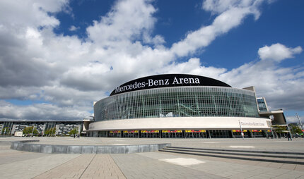 Mercedes Benz Arena Berlin Friedrichshain Sports, concerts and events