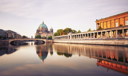 Berlin Cathedral and Museum Island in Berlin