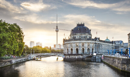 Museum Island and TV Tower in Berlin