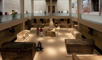 Neues Museum in Berlin: Egyptian hall