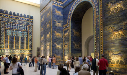 Blue Gate at Pergamon Museum