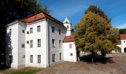 Castle Grunewald in Grunewald forest with Cranach-Collection
