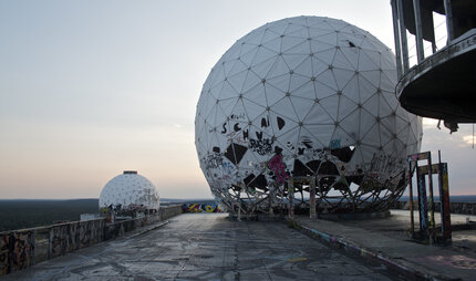 former US listening station Teufelsberg in Berlin