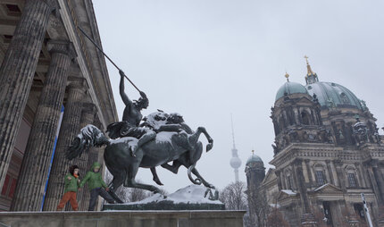 Museum Island in winter