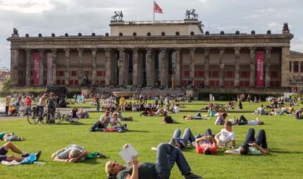 Lustgarten at Museum Island in Berlin