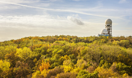 Drachenberg and Teufelsberg in Berlin