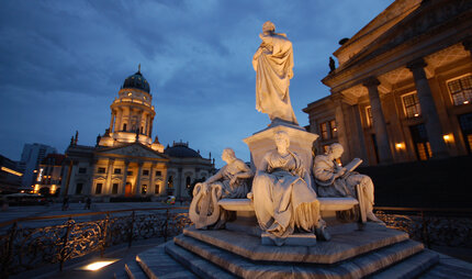 Gendarmenmarkt in Berlin in the evening