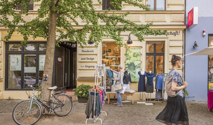 Shopping in Prenzlauer Berg in Berlin